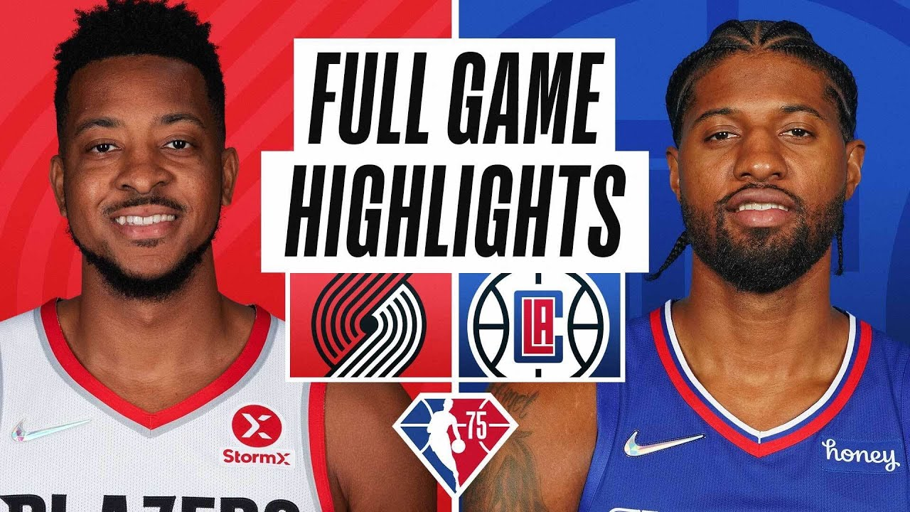 Download TRAIL BLAZERS at CLIPPERS | FULL GAME HIGHLIGHTS | October 25, 2021