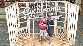 Cyclorama: Cyc Wall Framing Kit