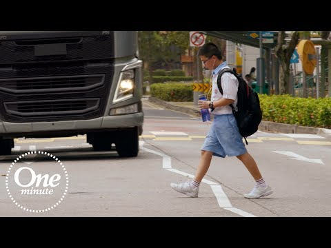 Volvo Trucks - One minute about 'Stop Look Wave'