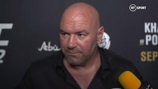 Dana White post-fight UFC 242 media scrum