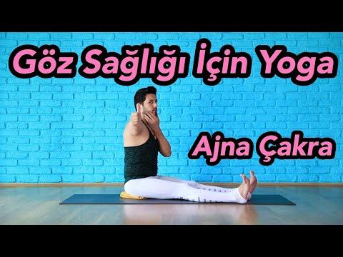 Göz Sağlığı Için Yoga | Ajna Çakra (Deneyimlerinden Özgürleş)