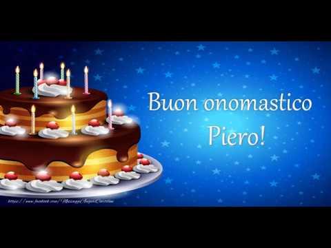 Buon Compleanno Piero Youtube