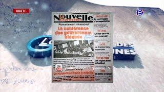 LA REVUE DES GRANDES UNES DU VENDREDI 21 DÉCEMBRE 2018 - ÉQUINOXE TV