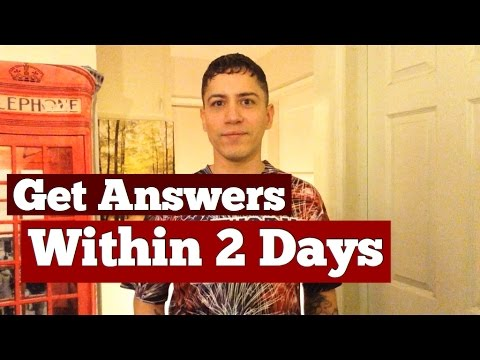 Get An Answer To Any Question Within 2 Days, From The Universe- Law Of Attraction