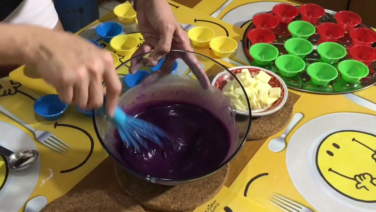 Ube Puto with Cheese only at iCandy's Kitchen Vlog Season 2 Episode 2