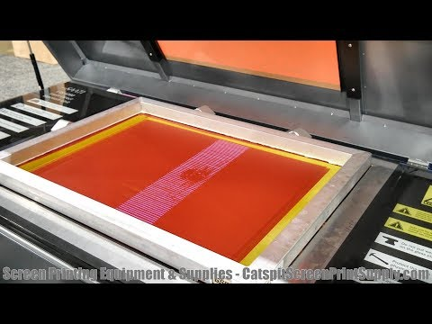 ISS Screen Printing Trade Show 2018: Saati's Laser To Screen Direct Exposure Unit