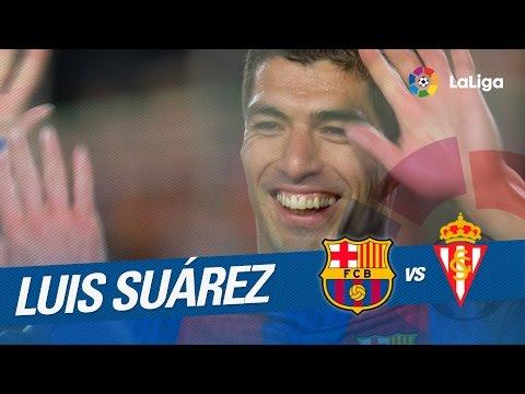 Golazo de Luis Suárez (3-1) FC Barcelona vs Sporting de Gijón