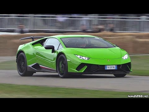 Lamborghini Huracan Performante LOUD Sounds! - AWD Burnout, Launch Control, Revs & More!
