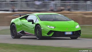 Lamborghini Huracan Performante LOUD Sounds! - AWD Burnout, Launch Control, Revs & More!