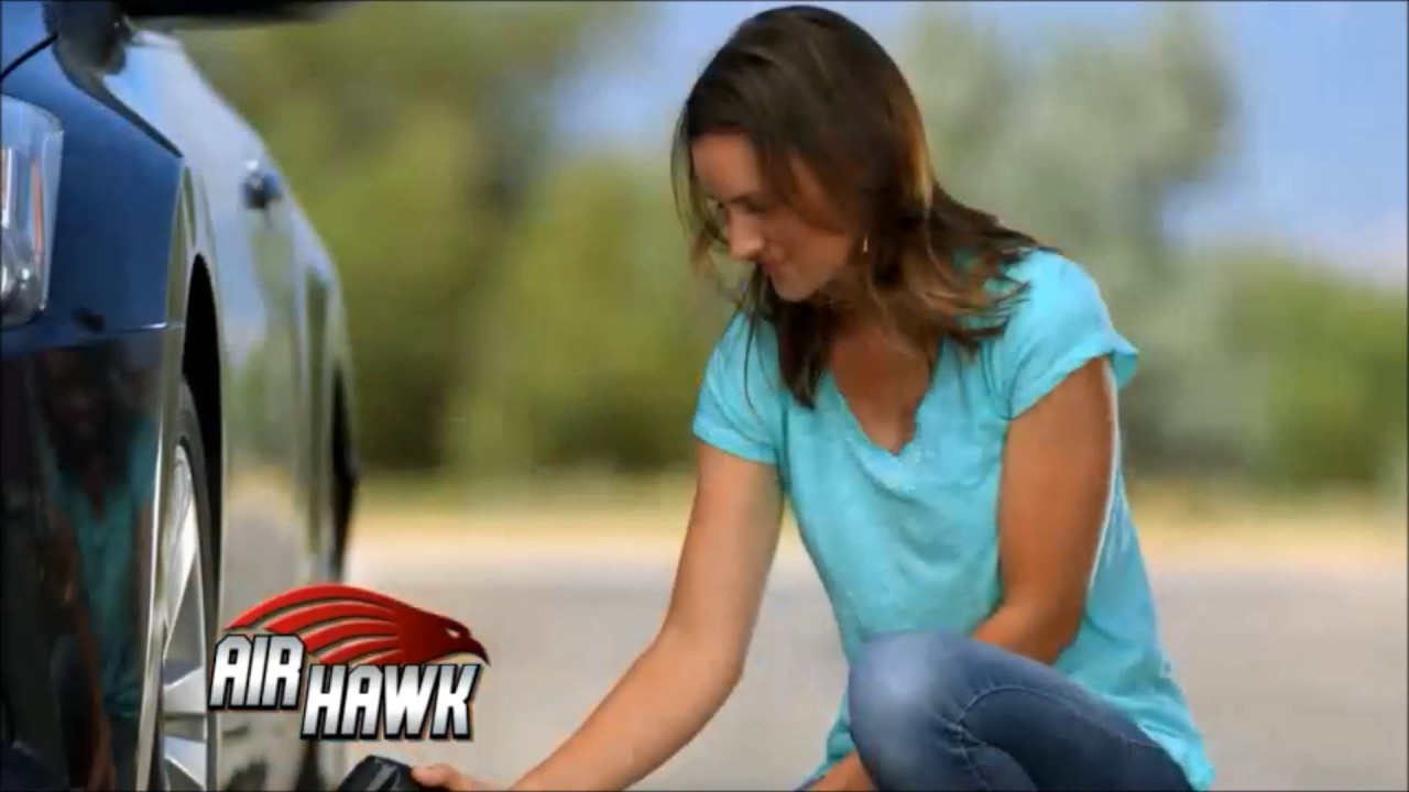 Air Hawk Pro Cordless Tire Inflator As Seen On Tv Youtube