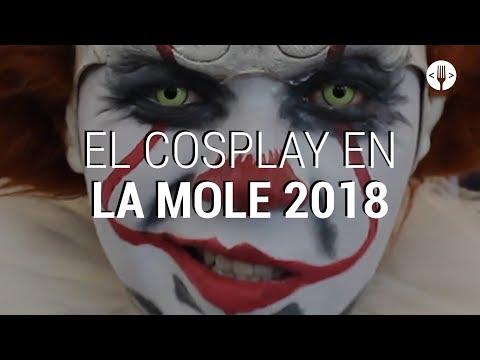 El cosplay de La Mole 2018