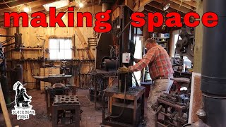 Power hammer shop remodel part 1