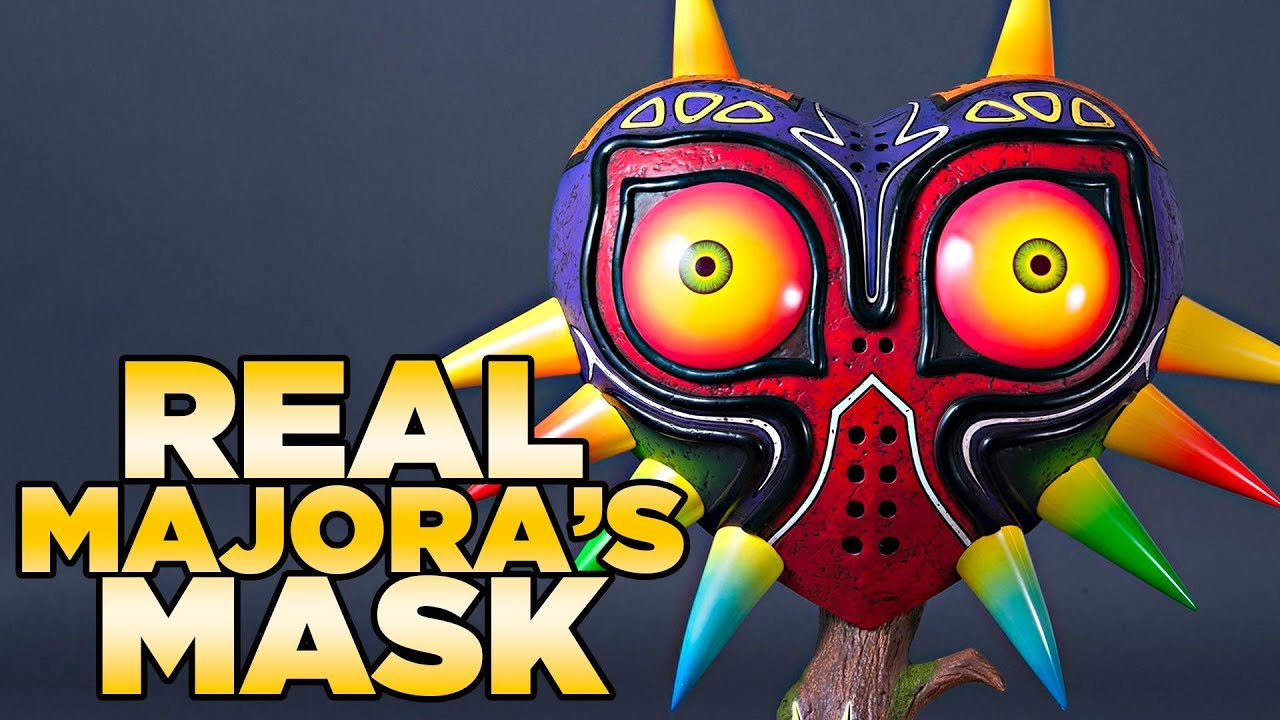 Life Size Replica Majora's Mask from The Legend of Zelda - First4Figures |  Austin John Plays