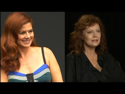 Debra Messing & Susan Sarandon Twitter feud over Trump reignited
