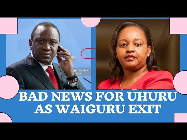 Anne Waiguru TACTICAL RETREAT From BBI is a Major Blow To Uhuru Kenyatta | Kenya Politics