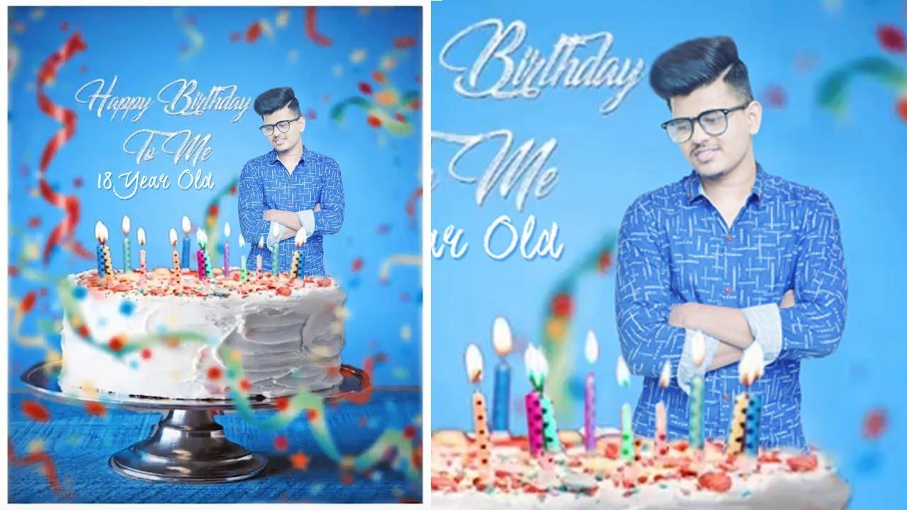 How To Edit Birthday Photos In Photoshop 70 IN Hindi Urdu