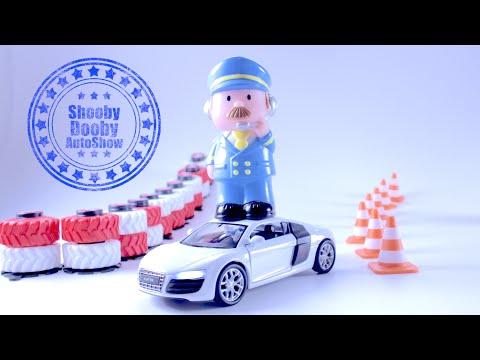 Машинки. крутой тест-драйв Audi R8 для детей - Лучшая Игрушечная Машинка Audi R8