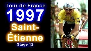 Jan Ullrich ► TdF 1997 ► Stage 12 ► Saint-Étienne (Zeitfahren) [18.07.1997]