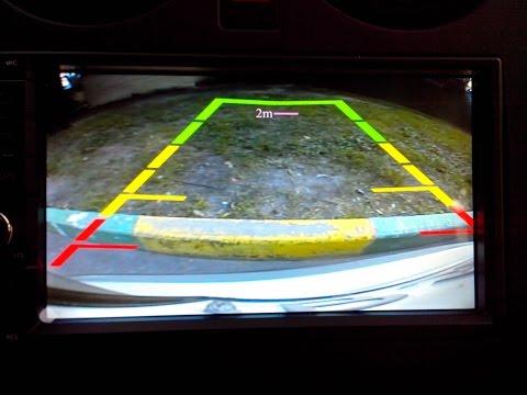 Замена сетки заднего хода на Android автомагнитоле