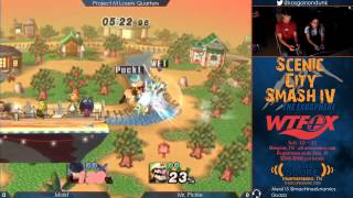 SCS4 - Moist (Ike) vs Mr. Pickle (Wario) - Project M Losers Quarters