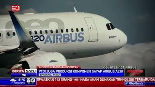 Proses Pembuatan Sayap Airbus oleh PT Dirgantara Indonesia
