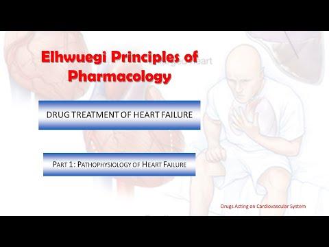 Elhwuegi Principles of Pharmacology. Heart failure. Part 1, pathophysiology of heart failure.