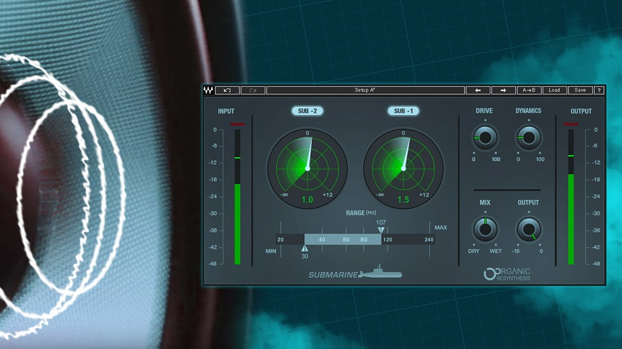 Waves' Submarine plugin could take your bass deeper than