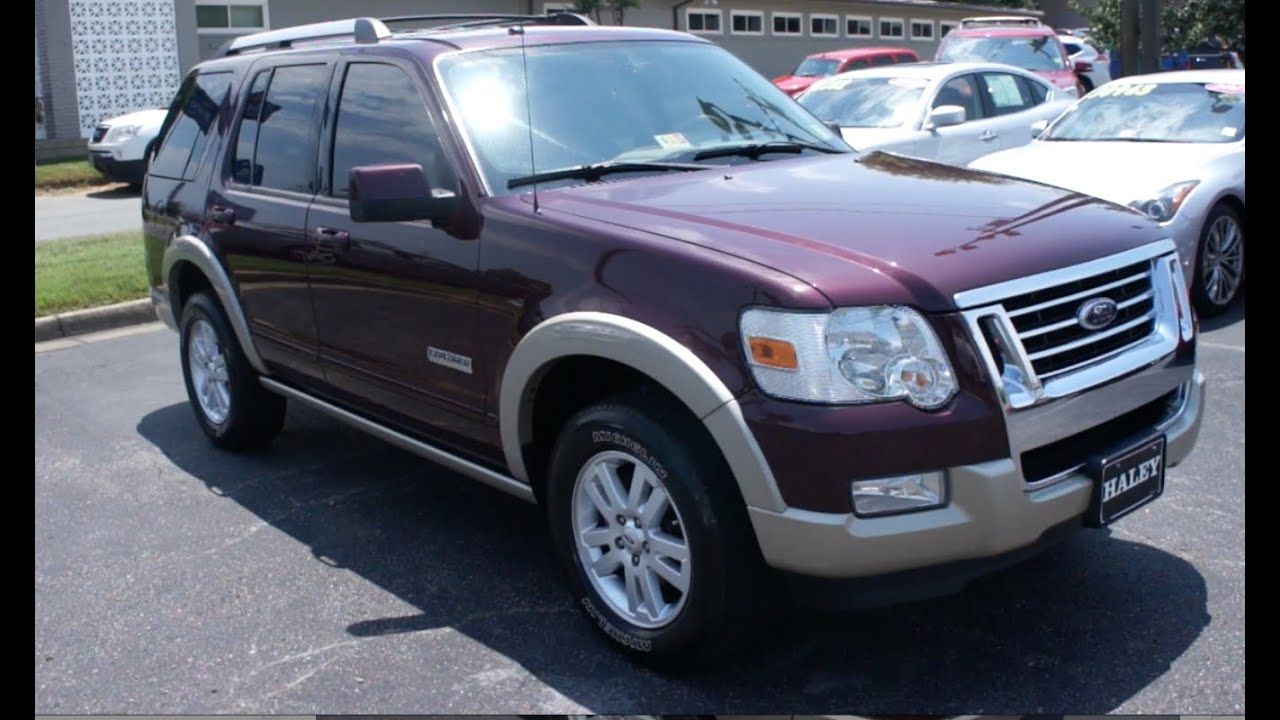 2007 Ford Explorer Ed Bauer Edition Walkaround Start Up Tour And Overview