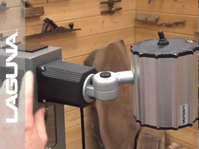 1412 Bandsaw Optional Worklight Installation - Part 7 of 14 - Laguna Tools