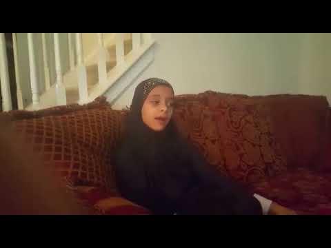 My lovely daughter samyia student of Al Manarah Islamic academy