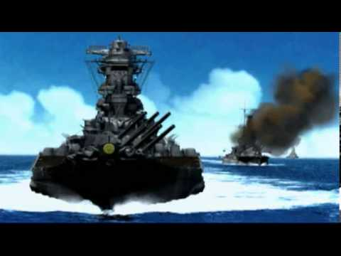 Part 1: Battleship Yamato at The Battle of Leyte Gulf - 10/25/1944