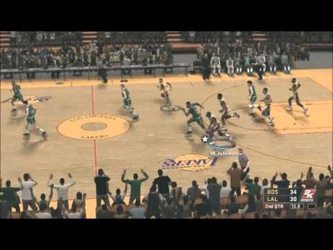 NBA 2K12 Greatest mode: 1987 Celtics vs. 1987 Lakers - Rivalry Is Skin Deep