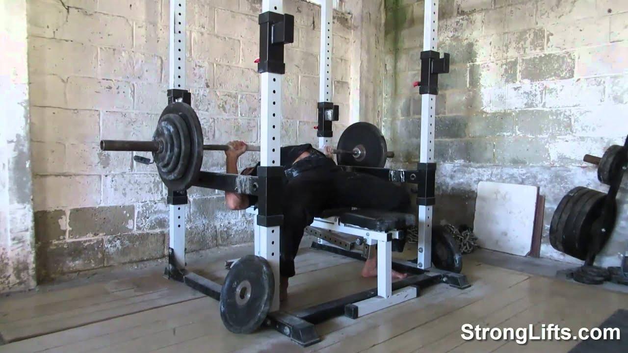 Mehdi From Stronglifts 5x5 Bench Press 242lb Youtube