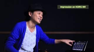 KORG iM1 for iPad - Impression by KEN ISHII