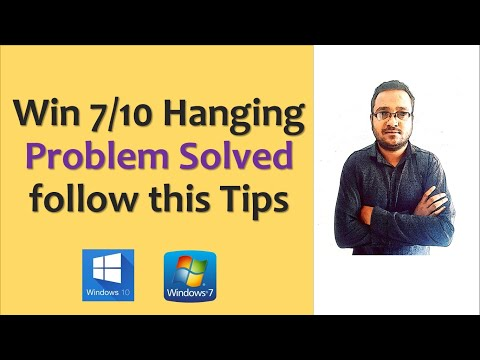 Windows 7, 10 Hanging Problem Solved In Hindi/ Computer Hang Problem In Hindi
