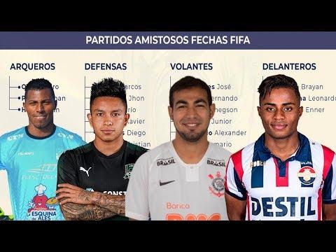 LOS 24 CONVOCADOS DE ECUADOR PARA LA FECHA FIFA DE SEPTIEMBRE 2019