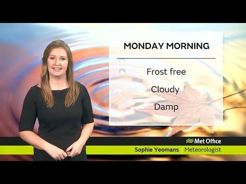 Monday Morning Forecast - 25/11/19