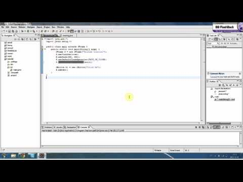 Java Swing Tutorial - Part 2 - JButtons and ActionListeners