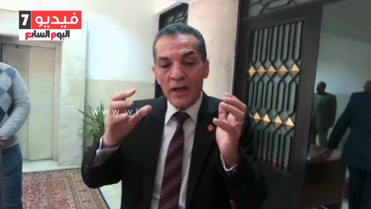 """اليوم السابع : بالفيديو.. رئيس جامعة الأزهر لأسر شهداء حادث العريش : """"كلنا مستعدون للشهادة"""""""