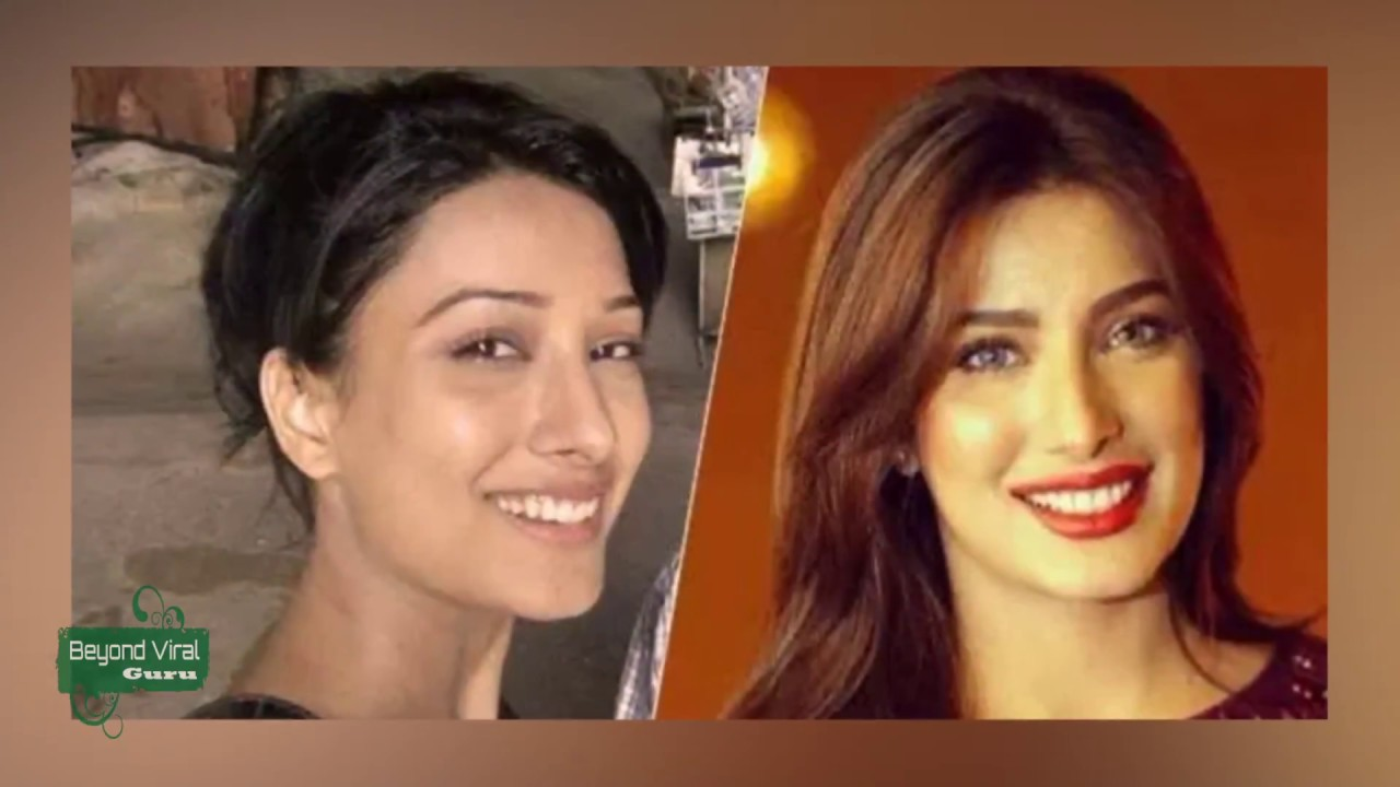 pakistani celebrities without makeup before and after