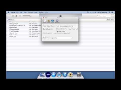 Using a Mac-based Music Server and Light Harmonic Da Vinci DAC