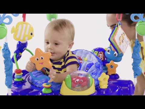 3238b8a5c Baby Einstein Neptune s Ocean Discovery Jumper™ - YouTube