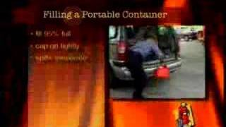 Gasoline Refueling / Gas Pump - Safety Video