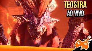 Monster Hunter World - Enfrentei  o DRAGÃO Ancião TEOSTRA no SOLO (PRIMEIRA VEZ)   Lance Gameplay