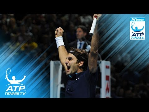 Federer v Tsonga: ATP Finals 2011 Final Highlights