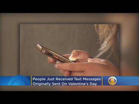 Deuce - AWKWARD! Many Texts Sent Out Valentines Day, Are Just Now Arriving