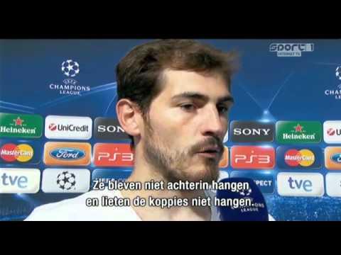 Casillas maakt kennis met Sierd de Vos