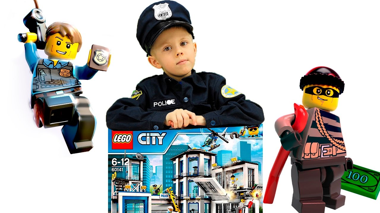 Полицейский Даник против лего грабителей - ЛЕГО СИТИ ПОЛИЦИЯ все серии подряд