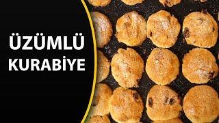 Üzümlü kurabiye tarifi - Kolay kurabiye tarifleri