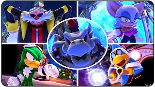 Mario & Sonic at the Sochi 2014 Olympic Winter Games - All Bosses